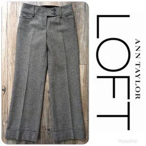 LIKE NEW LOFT Hounds tooth Pants Size 0P Orig $89!